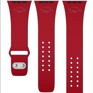 Affinity Bands Accessories - Arkansas Razorbacks Apple Compatible Watchband